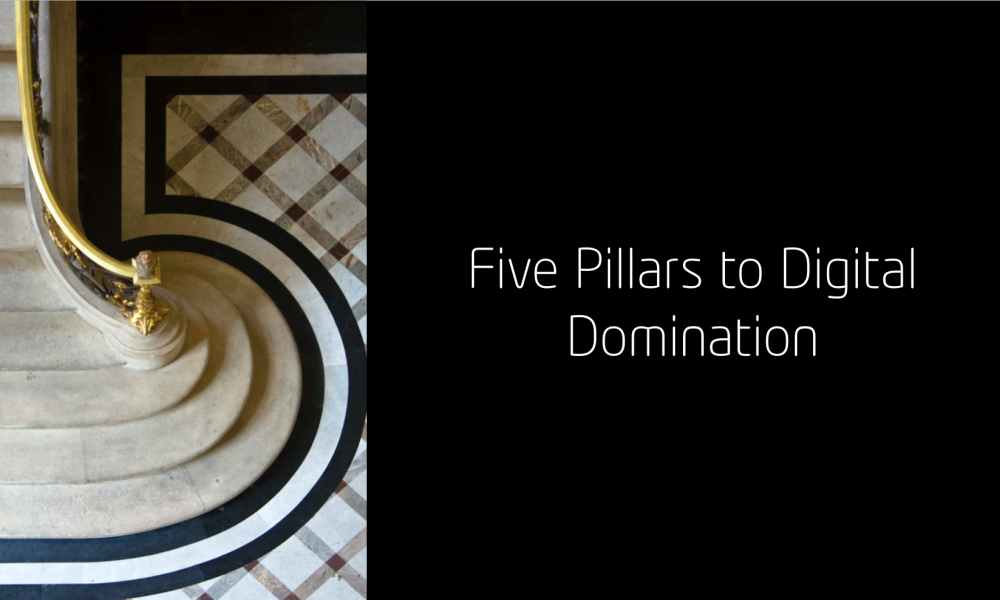 Five Pillars to Digital Domination